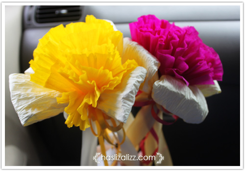 11052357935 1a60733eb2 o Kenduri Kahwin dan bunga tisu ros yang cantik