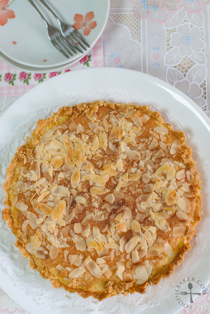 Italian Almond Tart + Liebster Award