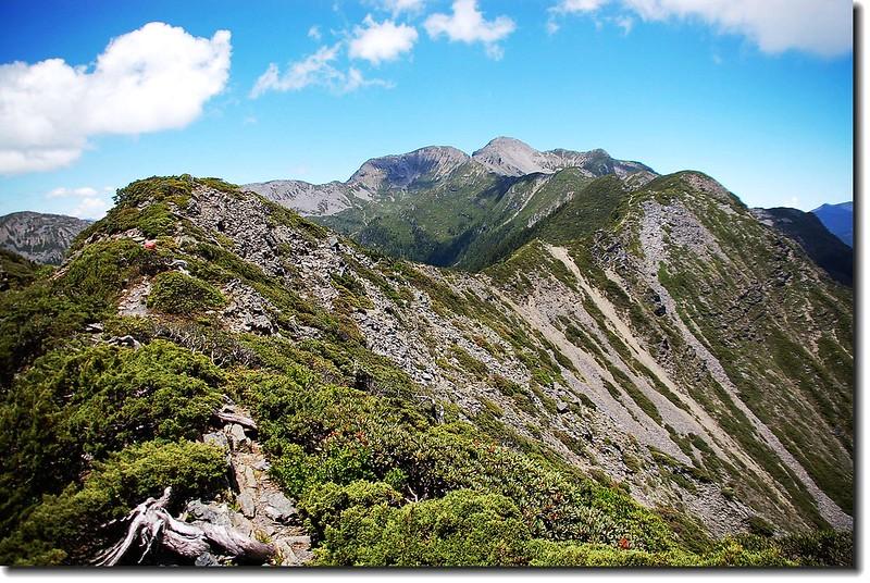 雪山聖稜線 1