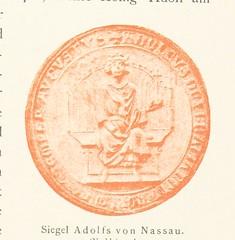 Image taken from page 157 of 'Deutsche Kaiser und Könige in Strassburg. Blätter aus der Geschichte der Westmark des Reichs. [With plates.]'