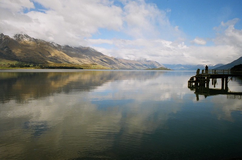 A lake in New Zealand