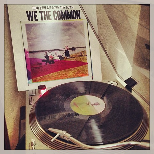 #brunchjams #thaoandthegetdownstaydown #wethecommon #nowspinning #vinyligclub #todaysoundslikethis #vinylandcocktails #photographicplaylist #clubrpm by Big Gay Dragon