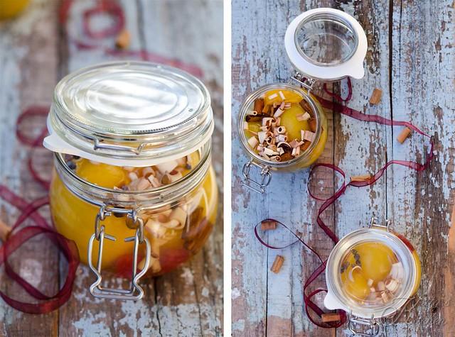 frutta sciroppata e candita