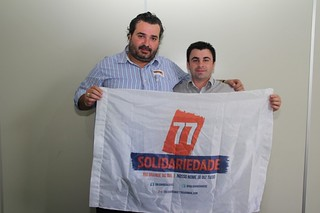 Cláudio Janta agradece confiança do vereador André Vianini