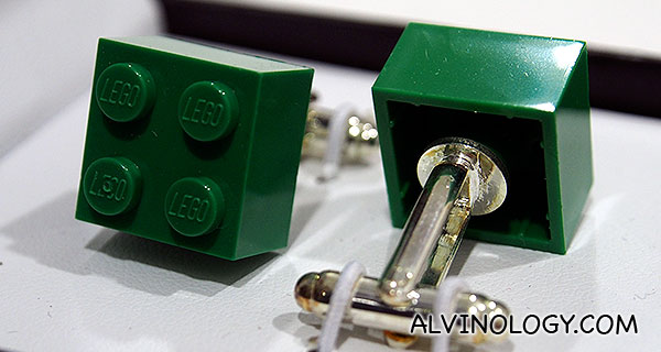 LEGO Brick cufflinks - usual price S$26 (now just S$16!)