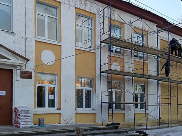 Внешние работы, ремонт фасада