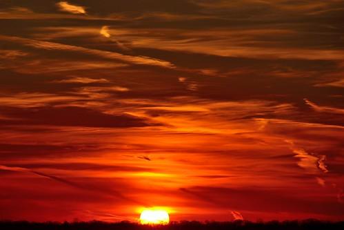 Sunset - January 9, 2013