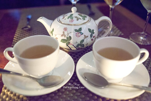 Our cups of mint tea
