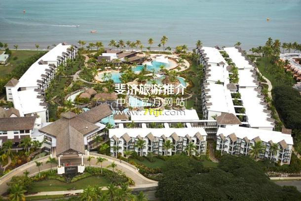 鸟瞰雷迪森布鲁度假酒店全景
