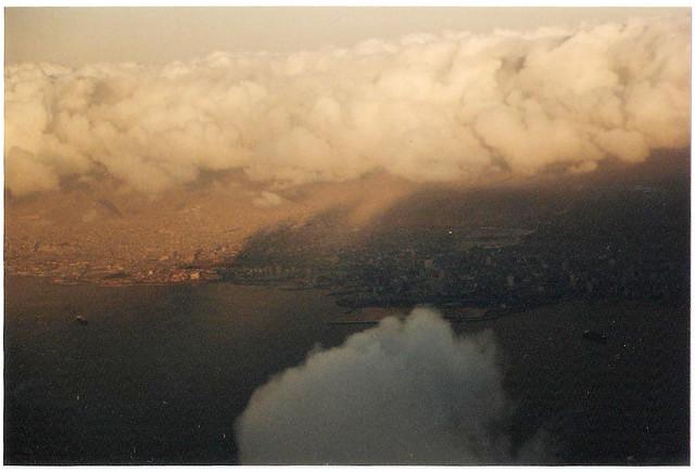 Antofagasta desde el cielo