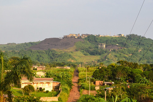 Comilog manganese mine, Moanda