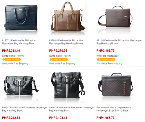 fashionable briefcases from Tmart