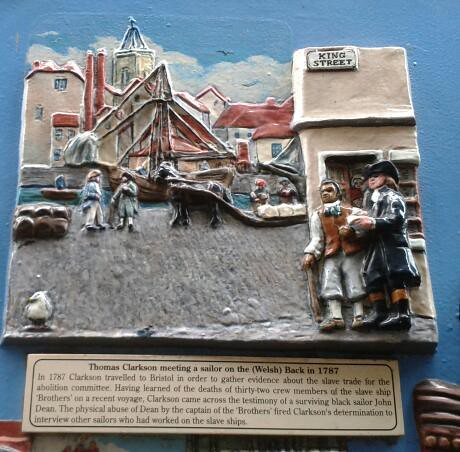 Photo of Multicoloured plaque № 8817