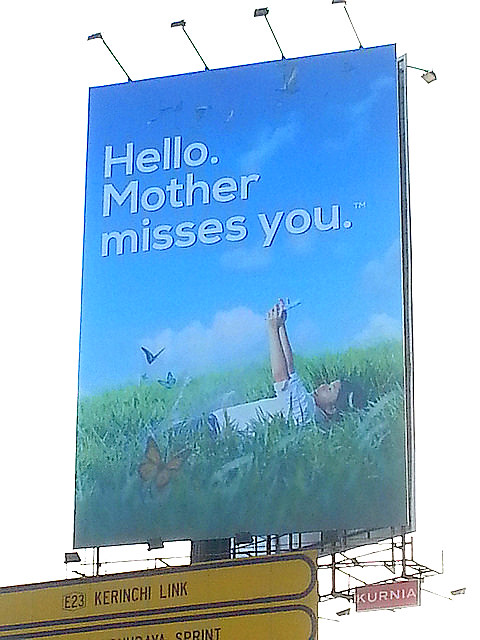 mother misses u billboard