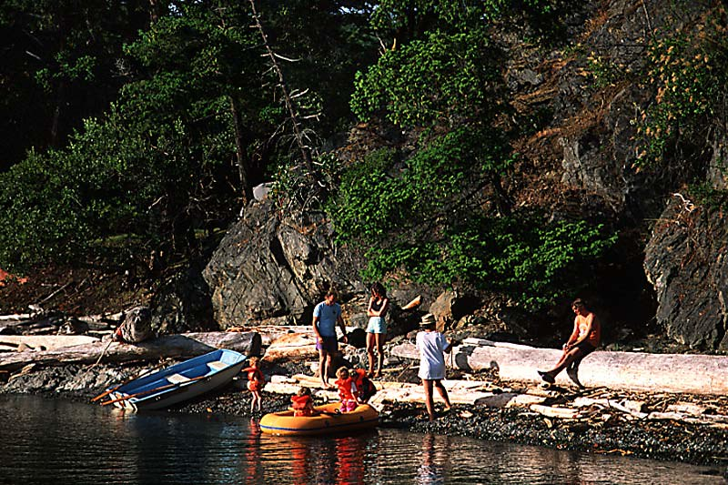 Outdoor Recreation in the Southern Gulf Islands, British Columbia, Canada