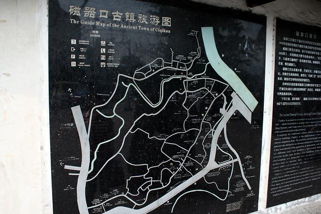 磁器口の地図