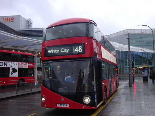 London United LT127 on Route 148, White City Bus Station