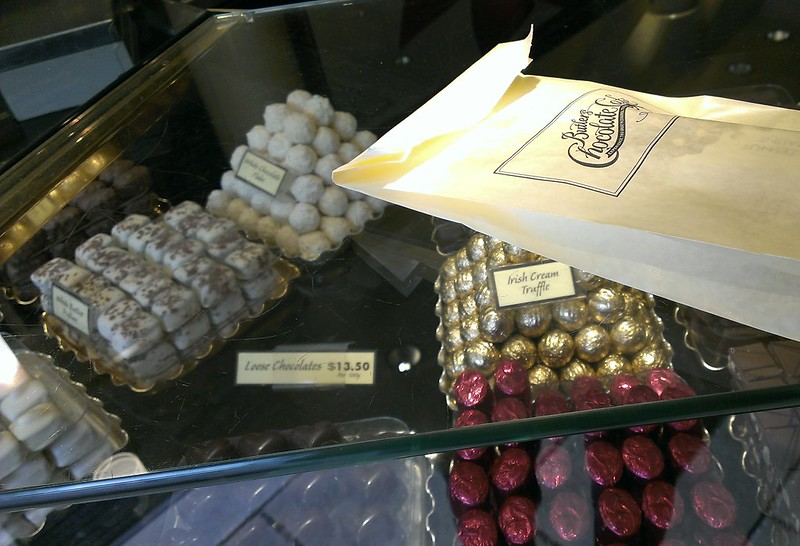 Chocolate from Butlers Chocolate Cafe
