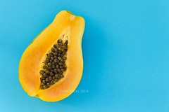 [papaya on blue low res]