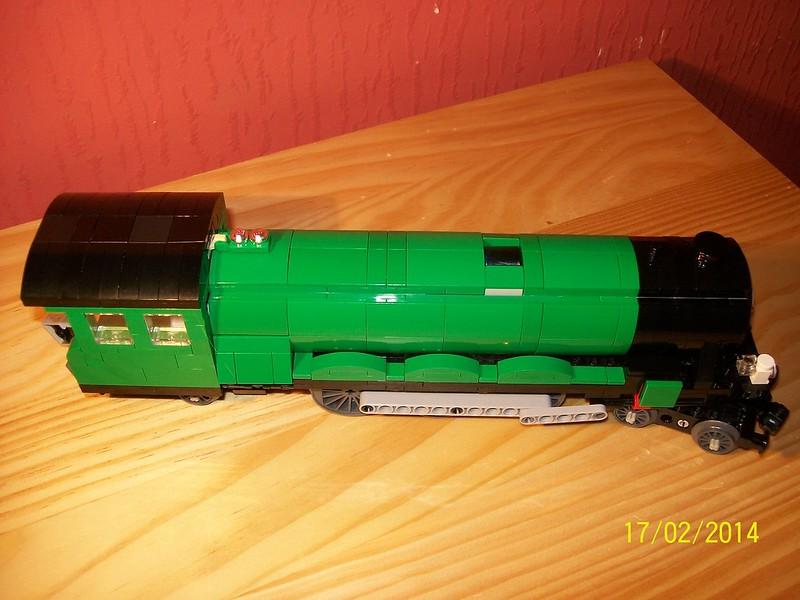 Moc Lego Steam Locomotive LNER 4472 Flying Scotsman - LEGO Train ...