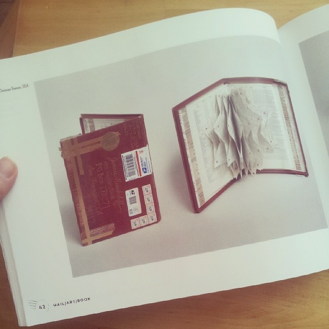 My piece in the mail art book catalog expostalfacto for Free craft catalogs mail
