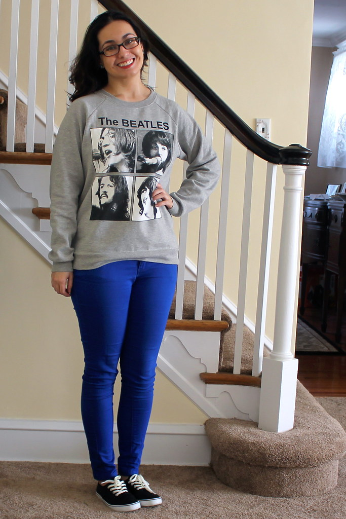 Beatles Graphic Sweatshirt
