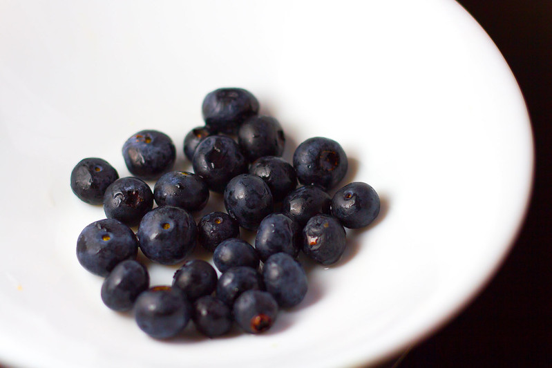 Monday, February 10: Blueberries are my summer fruit of choice now that I can't eat any stone fruit.