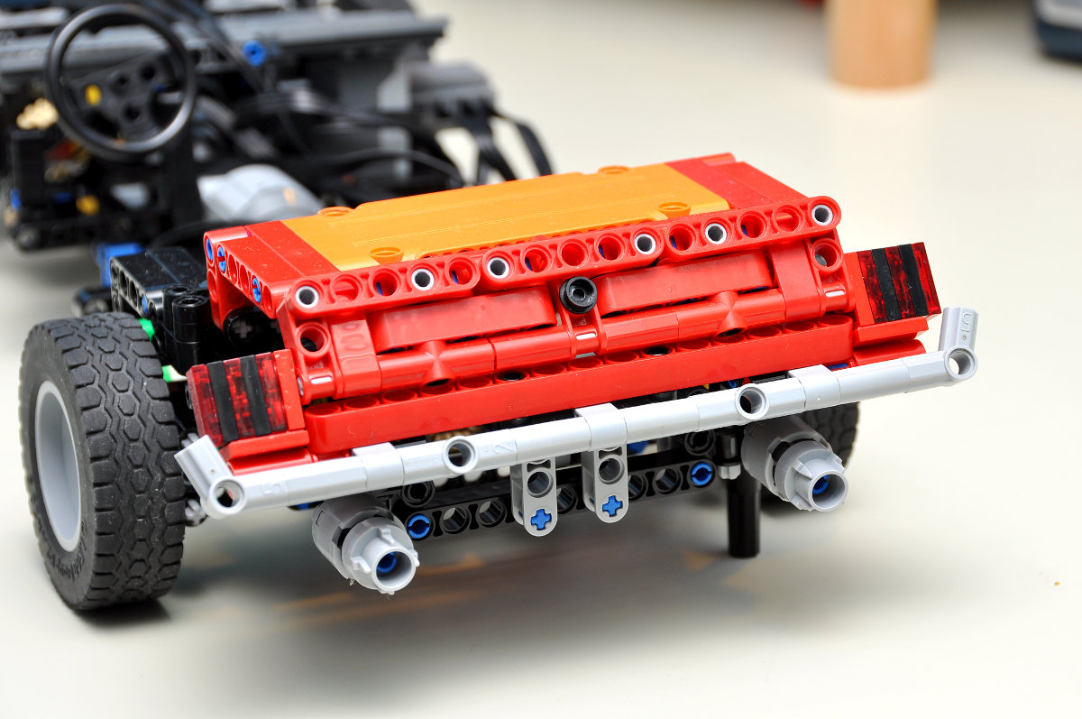 wip 1968 ford mustang page 3 lego technic. Black Bedroom Furniture Sets. Home Design Ideas