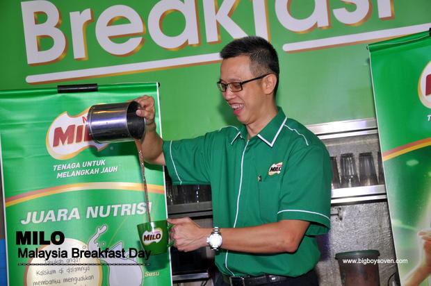MILO Malaysia Breakfast Day 2014 4