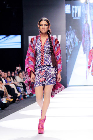 Shamaeel Ansari New Collection at Fashion Pakistan Week 2014