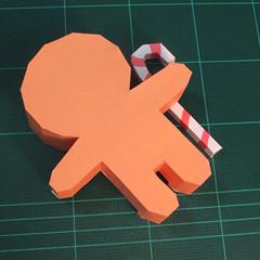 วิธีทำโมเดลกระดาษตุ้กตาคุกกี้รัน คุกกี้ผู้กล้าหาญ แบบที่ 2 (LINE Cookie Run Brave Cookie Papercraft Model Version 2) 023