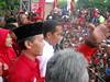 Hamka Haq kampanye bersama Jokowi di Jember 4 April 2014