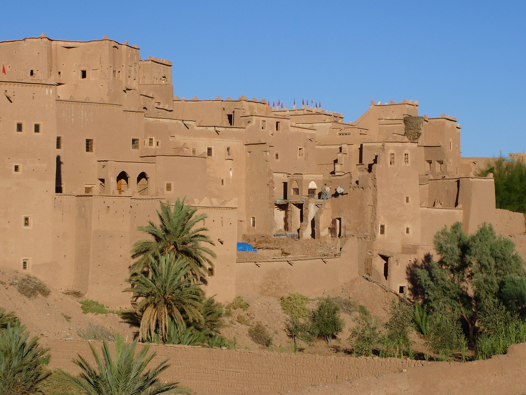 Taourirt Kasbah, photo by Rol1000, CC BY-NC-ND 2.0
