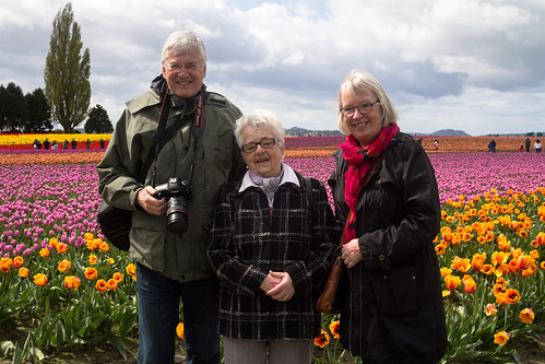 Tulip tourists