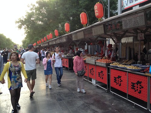 Eating our way through Beijing