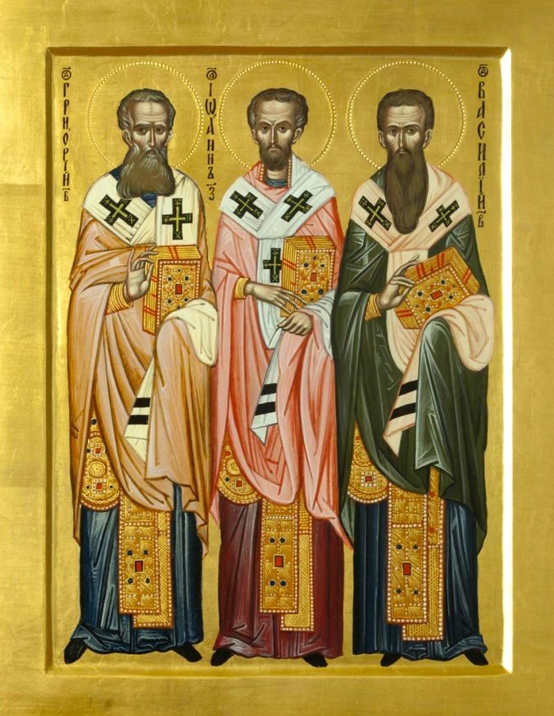 Sfintii Ierarhi Vasilios, Grigorios si Ioannis