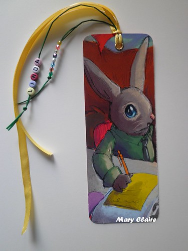 segnalibro Linda-coniglietto