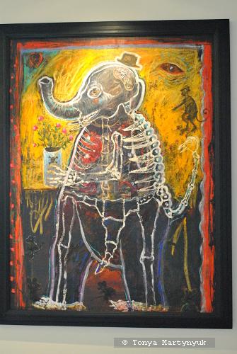 19. Alejandro Colunga. Elephant Rayo X, 1992