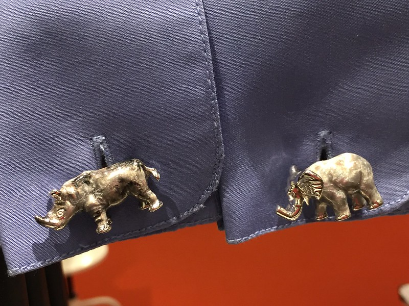 Jan Leslie Cufflinks at Pitti87