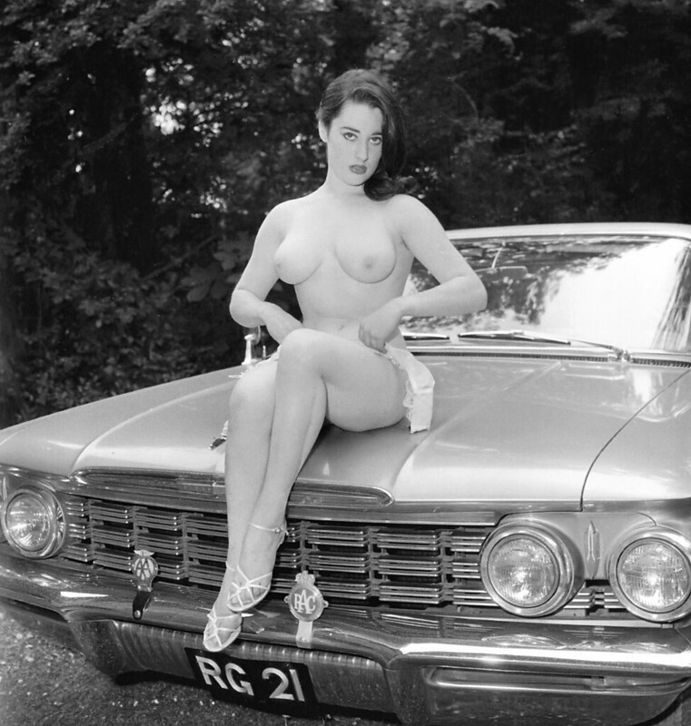 Vintage nud car pinups apologise