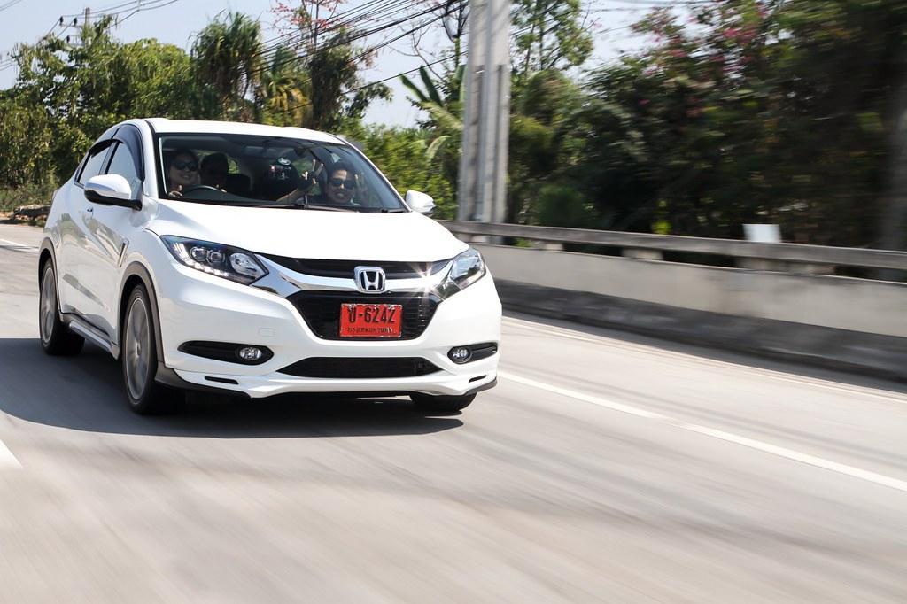 Chiangmai - chiangrai - Honda HRV test drive