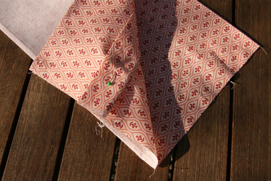 Tuto couture - bouillotte dorsale graines de lin - Etape 24