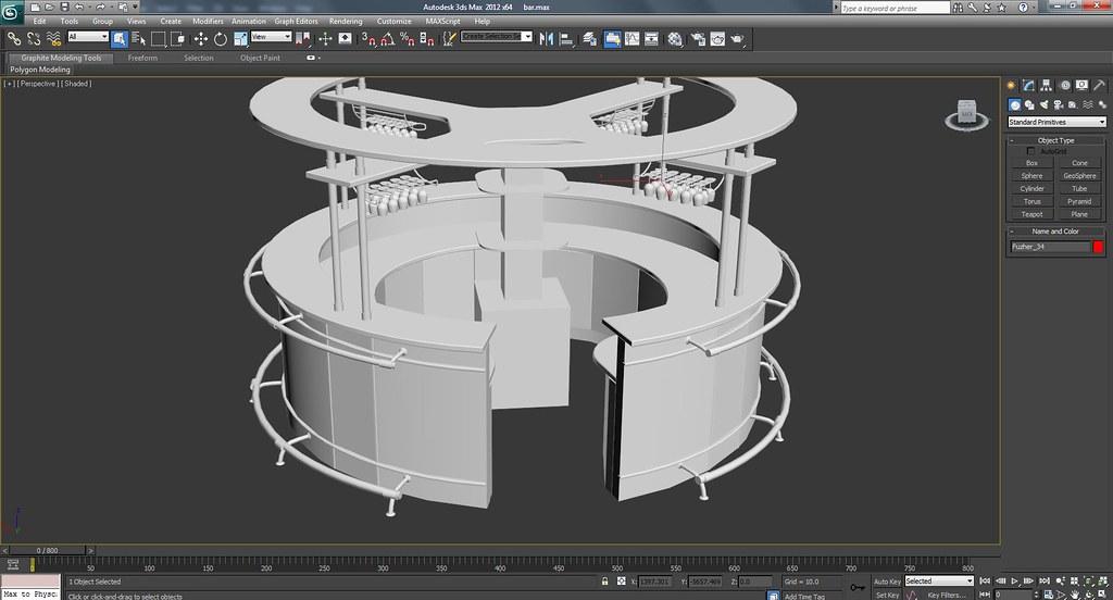 3d Bar Work In Progress Screenshots