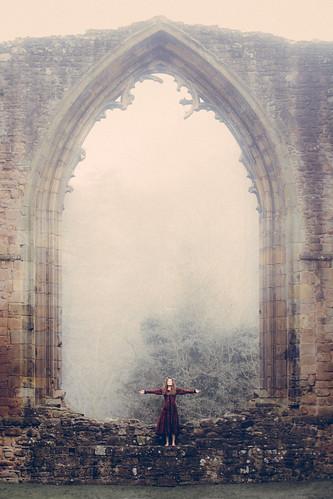 Medieval photo shoot
