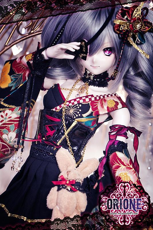 Dollfie Dream M bust outfit - Sange (散華)