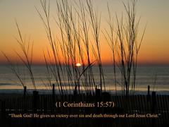 1 Corinthians 15:57 nlt