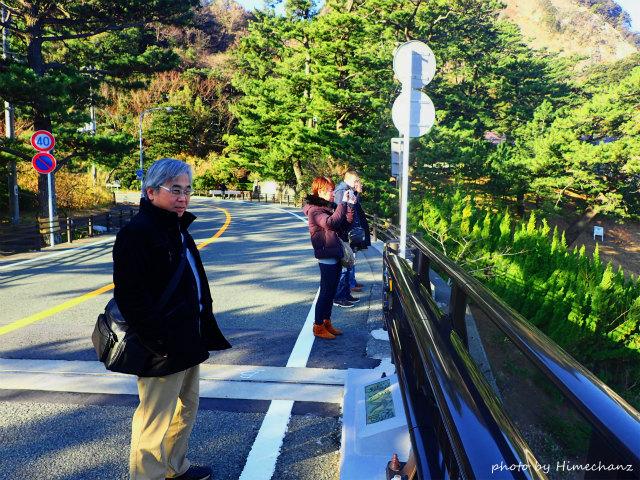 朝のお散歩で富士山見物♪
