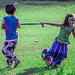 Children play in the garden by Emraan's Photography