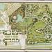 Plan du jardin et chateau de la Reine by Kungliga biblioteket