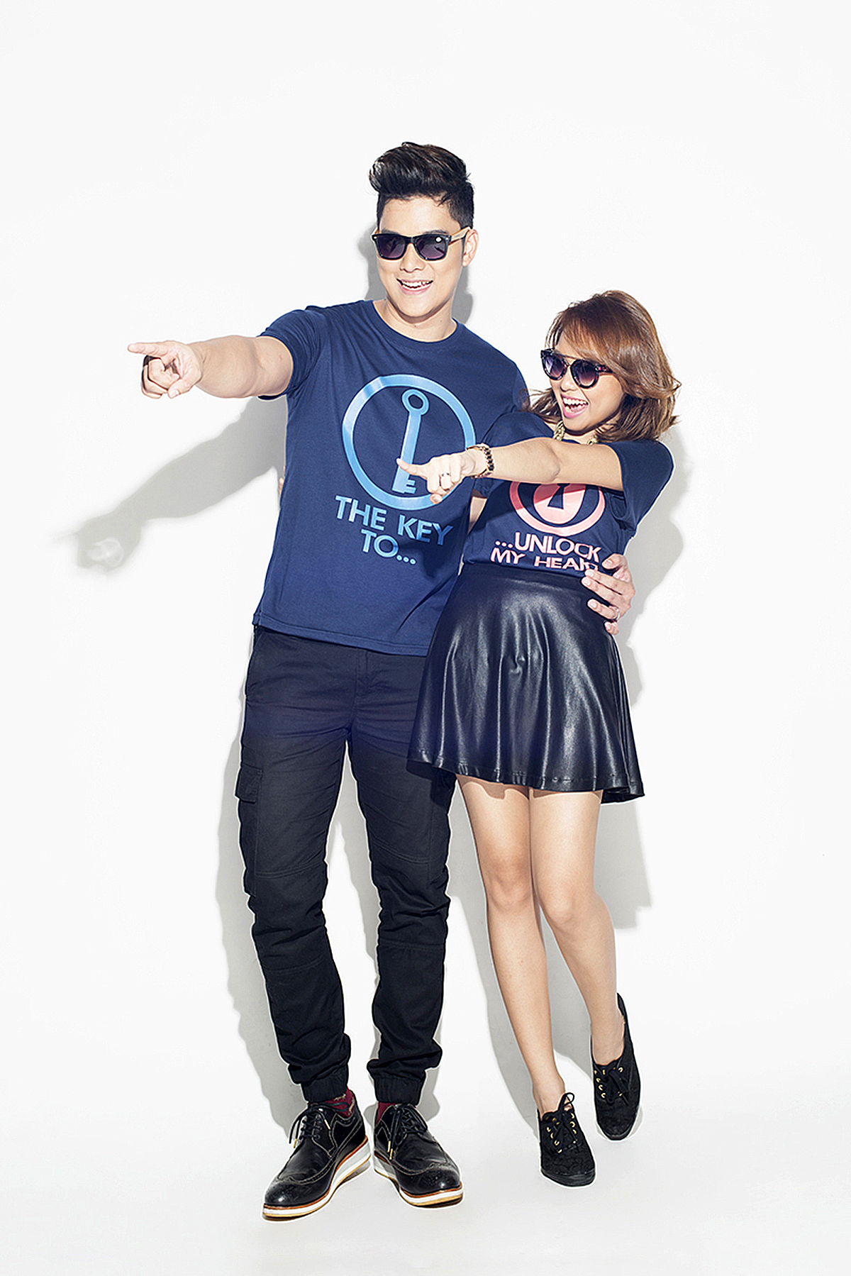 Trice Nagusara and Seph Cham